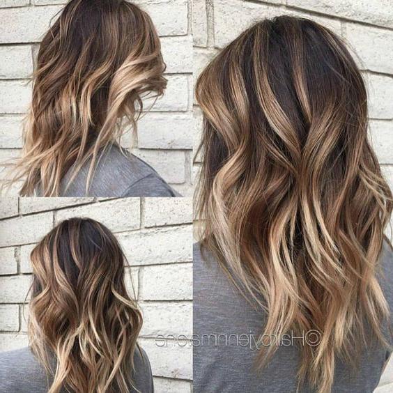 30 Cute Daily Medium Hairstyles 2018 – Easy Shoulder Length Hair Intended For Cute Medium Long Hairstyles (View 14 of 25)