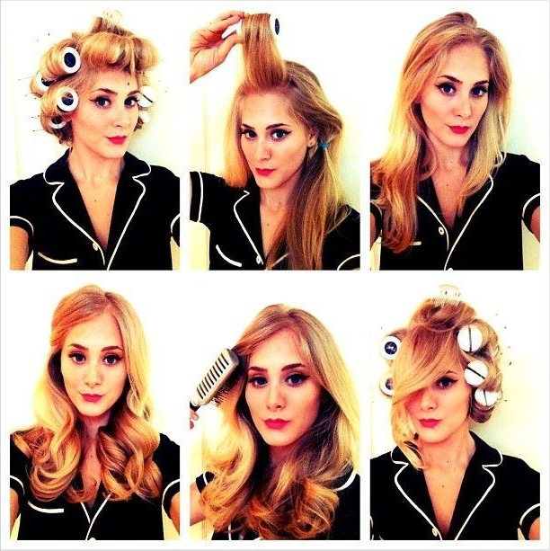 30 Diy Vintage Hairstyle Tutorials For Short, Medium, Long Hair For Vintage Haircuts For Long Hair (View 17 of 25)
