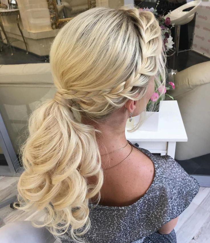 30 Eye Catching Ways To Style Curly And Wavy Ponytails | Prom Within Low Curly Side Ponytail Hairstyles For Prom (View 6 of 25)