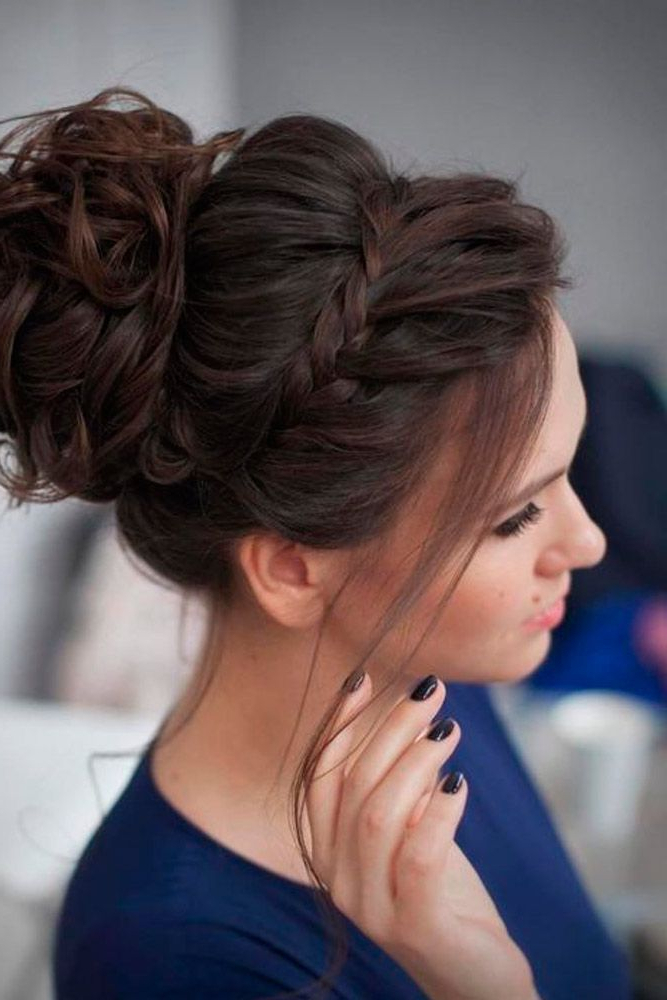 30 Great Hair Updos For Christmas   Hair Affair   Hair Styles, Long With Regard To Classic Prom Updos With Thick Accent Braid (View 2 of 25)