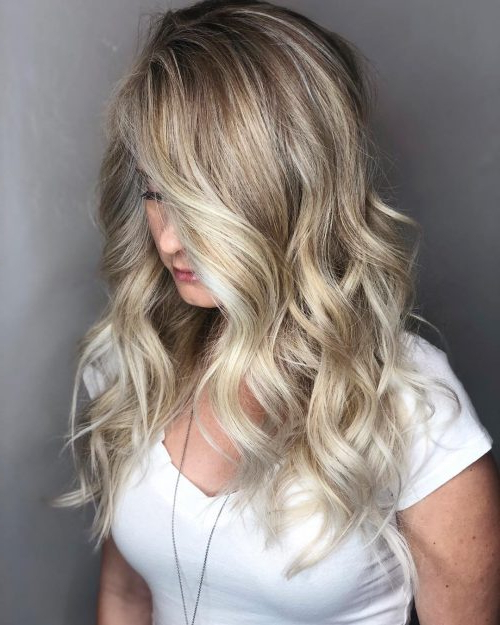 30 Greatest Blonde Hair Colors In 2019: Honey, Dirty, Ash & Platinum Pertaining To Long Feathered Strawberry Blonde Haircuts (View 4 of 25)