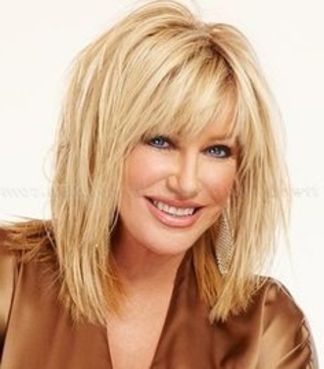 30 Haircuts For Women With Bangs – Hairstyles & Haircuts For Men & Women With Long Hairstyles With Straight Bangs (View 24 of 25)