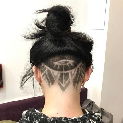 30 Hideable Undercut Hairstyles For Women You'll Want To Consider Intended For Long Hairstyles Shaved Underneath (View 24 of 25)