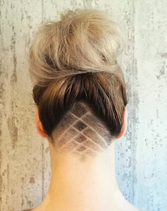 30 Hideable Undercut Hairstyles For Women You'll Want To Consider Intended For Long Hairstyles Shaved Underneath (View 20 of 25)