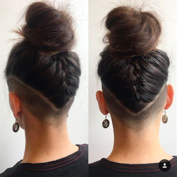 30 Hideable Undercut Hairstyles For Women You'll Want To Consider With Regard To Long Hairstyles Shaved Underneath (View 4 of 25)