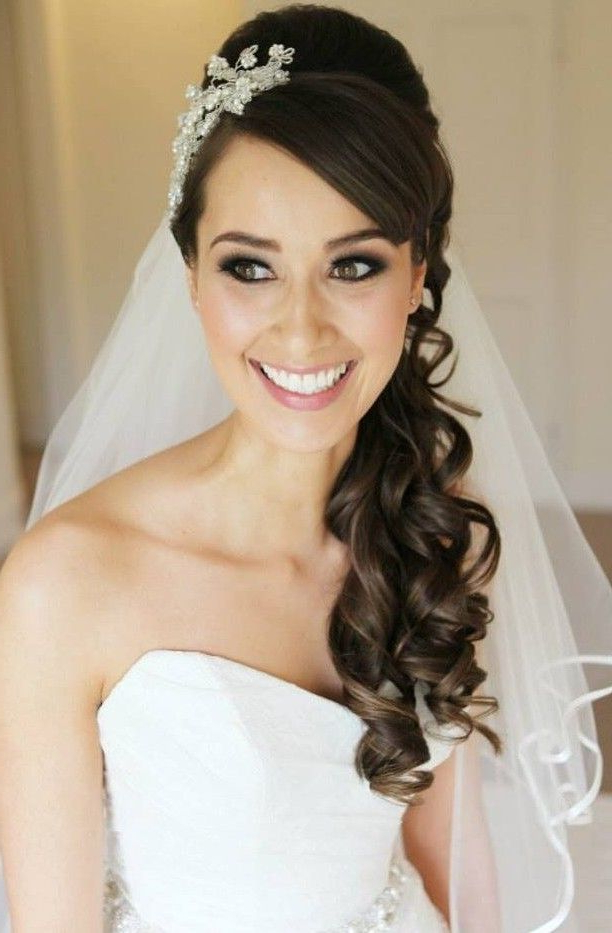 30 Hottest Wedding Hairstyles With Veil Find More Beautiful Wedding Within Long Hairstyles Veils Wedding (View 5 of 25)