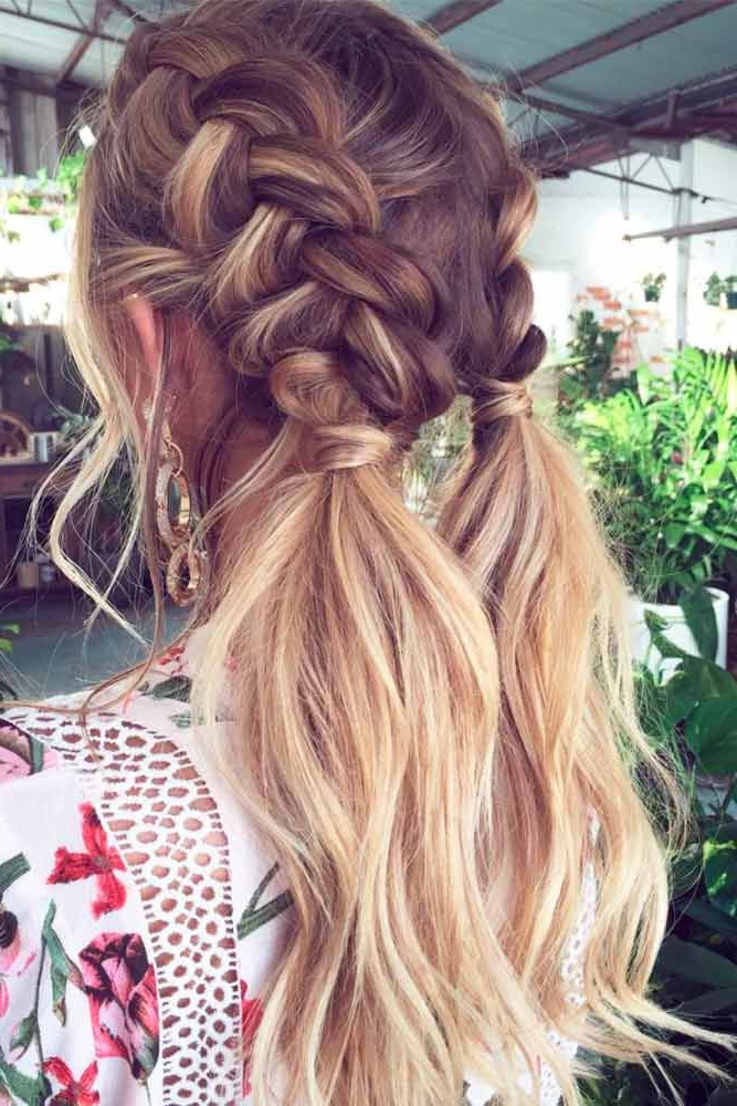 30 Incredible Hairstyles For Thin Hair | Things I Love | Hair Styles Regarding Long Hairstyles Plaits (View 14 of 25)