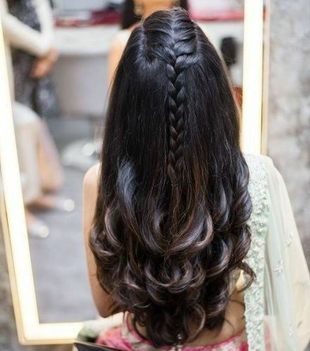 30+ Indian Bridal Wedding Hairstyles For Short To Long Hair With Regard To Long Hairstyles Indian (View 5 of 25)