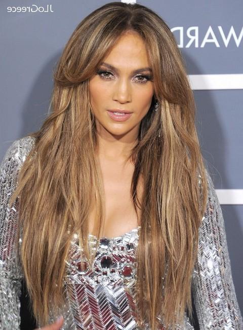 30 Jennifer Lopez Hairstyles – Pretty Designs In Long Layered Hairstyles Jennifer Lopez (View 11 of 25)