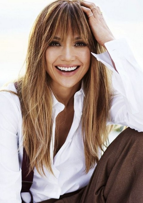 30 Jennifer Lopez Hairstyles – Pretty Designs Within Long Hairstyles Jennifer Lopez (View 18 of 25)