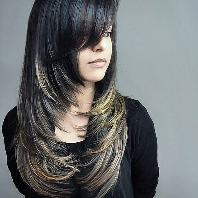 30 Latest Hairstyles For Girls With Long Hair 2019 – Find Health Tips Inside Descending Face Framing Layers For Long Hairstyles (View 12 of 25)