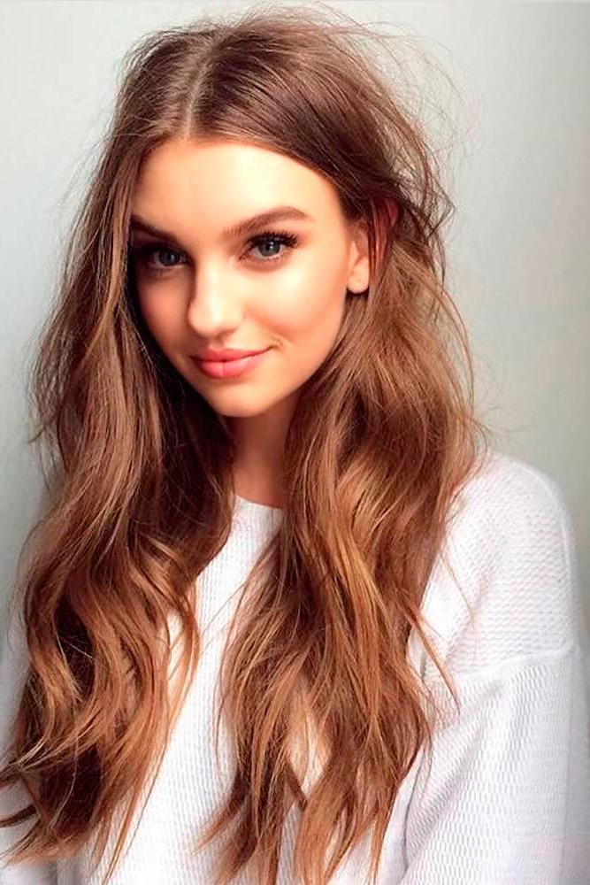 30 Long Hairstyles For Round Faces – Keep Calm And Style Your Hair For Long Hairstyles Round Faces (View 10 of 25)