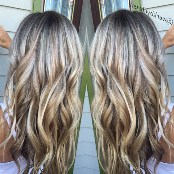 30 Luscious Daily Long Hairstyles For 2018 – Daily Hairstyles For Inside White Blonde Flicked Long Hairstyles (View 12 of 25)