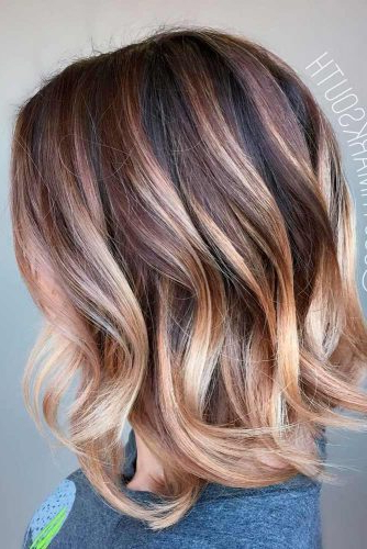30 Medium Length Hairstyles Ideal For Thick Hair | Lovehairstyles Inside Medium Long Haircuts For Thick Hair (View 22 of 25)