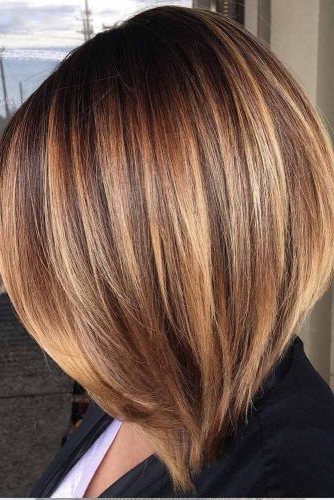 30 Medium Length Hairstyles Ideal For Thick Hair | Lovehairstyles Throughout Medium Long Layered Bob Hairstyles (View 9 of 25)