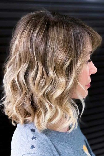 30 Medium Length Hairstyles Ideal For Thick Hair   Lovehairstyles Within Swoopy Flipped Layers For Long Hairstyles (View 14 of 25)