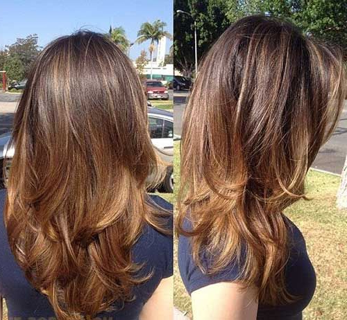 30 New Hairstyles For Medium Long Hair | Hair | Hair Cuts, Long Pertaining To Long Hairstyles For Women Over (View 9 of 25)