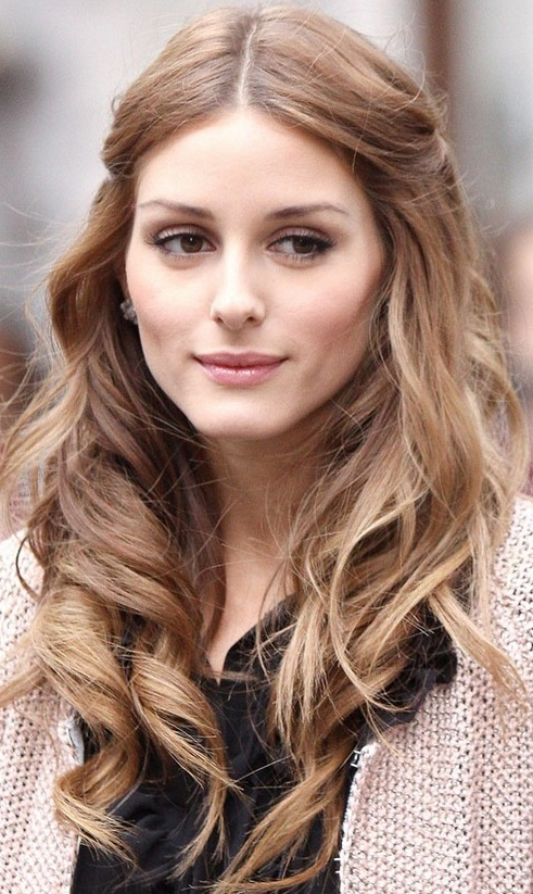 30 Olivia Palermo Hairstyles – Pretty Designs Pertaining To Long Hairstyles Pinned Back (View 25 of 25)