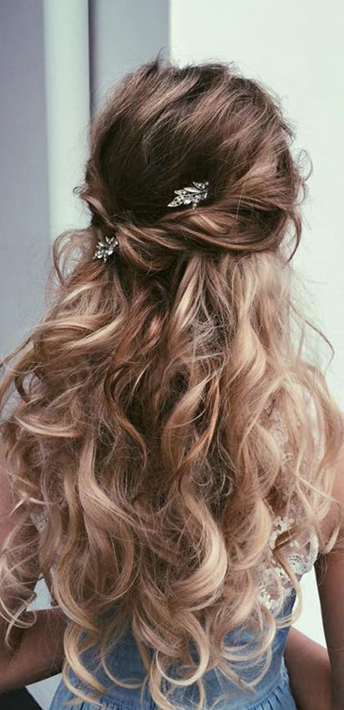 30 Our Favorite Wedding Hairstyles For Long Hair #2709744 – Weddbook Within Long Hairstyles For Wedding (View 15 of 25)