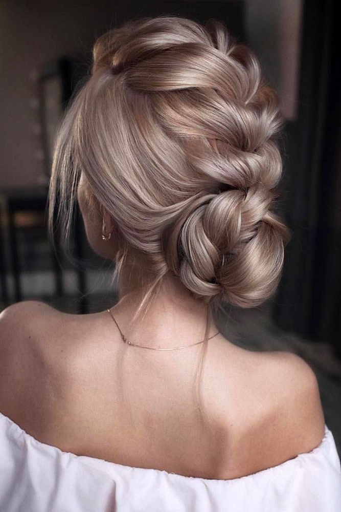 30 Pinterest Wedding Hairstyles For Your Unforgettable Wedding Throughout Volumized Low Chignon Prom Hairstyles (View 4 of 25)