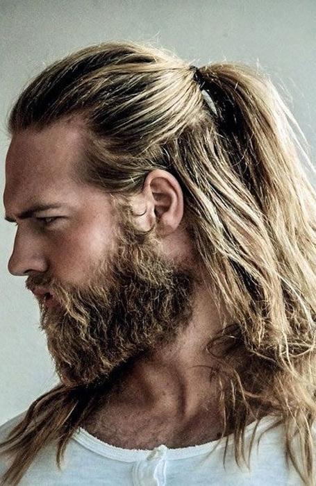 30 Sexy Blonde Hairstyles For Men – The Trend Spotter Inside Dark Blonde Long Hairstyles (View 25 of 25)