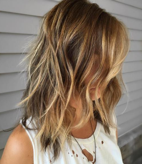 30 Shag Haircuts For Women – Go Sassy And Sultry – Haircuts With Regard To Long Brown Shag Hairstyles With Blonde Highlights (View 13 of 25)