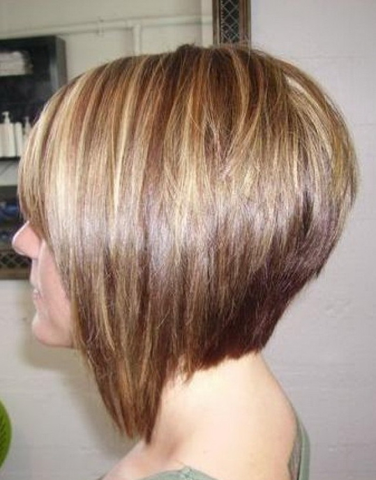 30 Stacked A Line Bob Haircuts You May Like – Pretty Designs Within Long Inverted Bob Back View Hairstyles (View 25 of 25)