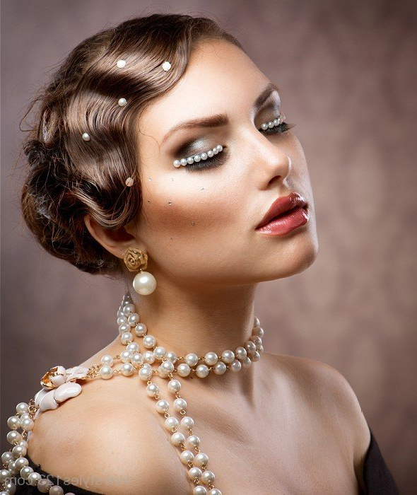 30 Top Flapper Girl Finger Wave Hairstyle Ideas [June (View 9 of 25)