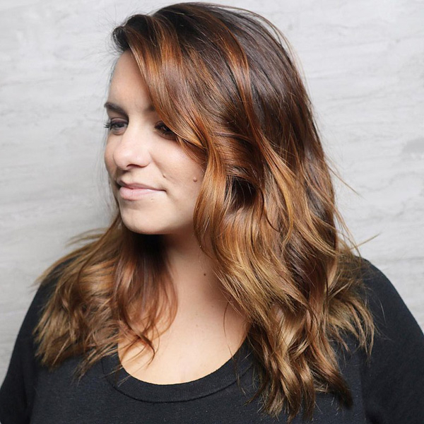 30+ Trendy Hairstyles And Haircuts For Round Face [April, 2019] Inside Long Hairstyles For Fat Faces (View 24 of 25)