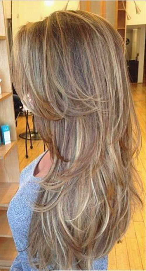 30 Youth Restoring Long Straight Hairstyles For Women Intended For Choppy Layers For Straight Long Hairstyles (View 8 of 25)