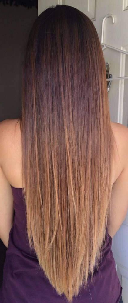 30 Youth Restoring Long Straight Hairstyles For Women Pertaining To Long Hairstyles V Cut (View 15 of 25)