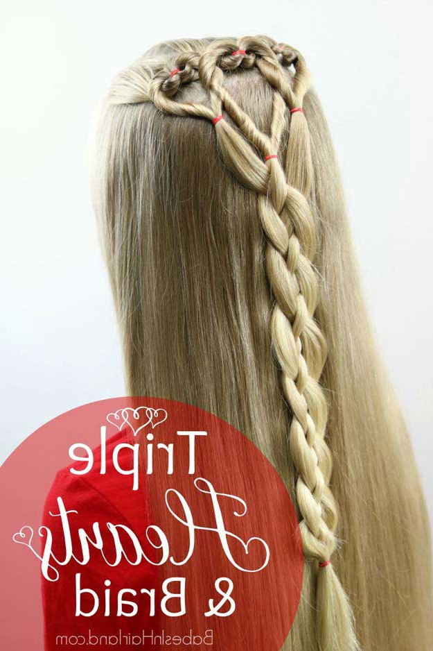 31 Amazing Half Up Half Down Hairstyles For Long Hair – The Goddess With Long Hairstyles Down Straight (View 21 of 25)