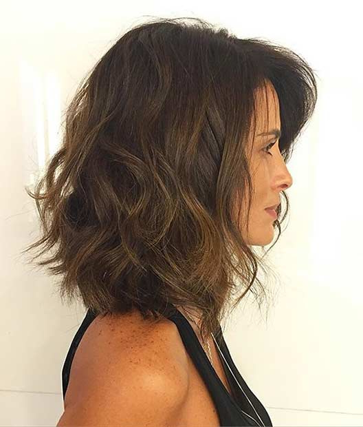 31 Best Shoulder Length Bob Hairstyles | Stayglam Inside Medium Long Layered Bob Hairstyles (View 21 of 25)