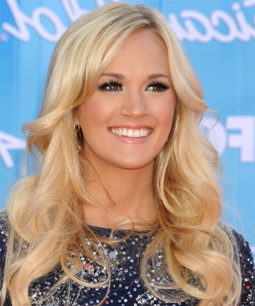 Featured Photo of Carrie Underwood Long Hairstyles