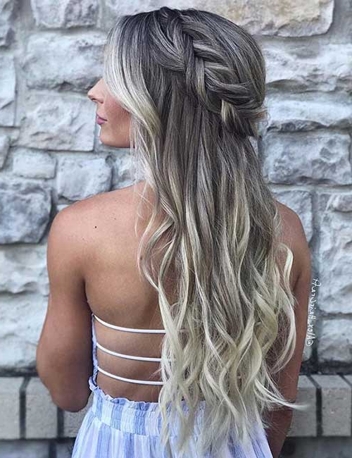 31 Incredible Half Up Half Down Prom Hairstyles Throughout Long Hairstyles Down For Prom (View 14 of 25)