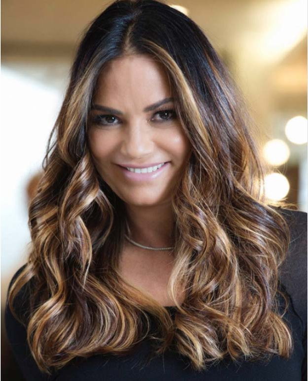 31 Long Wavy Hairstyles – The Goddess Within Long Layered Half Curled Hairstyles (View 10 of 25)