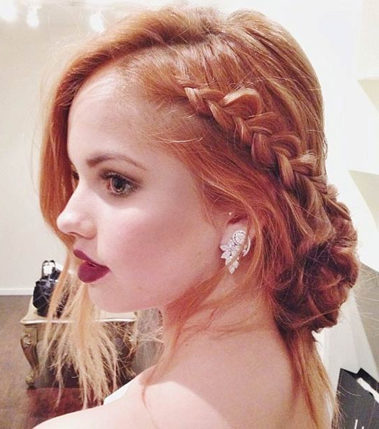 31 Most Beautiful Updos For Prom | Stayglam Within Cute Long Hairstyles For Prom (View 17 of 25)