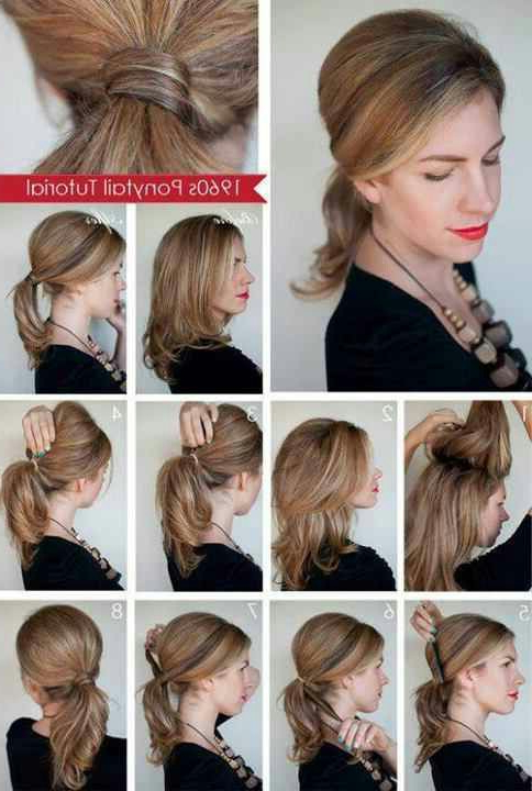 32 Amazing And Easy Hairstyles Tutorials For Hot Summer Days – Style Inside Long Easy Hairstyles Summer (View 7 of 25)