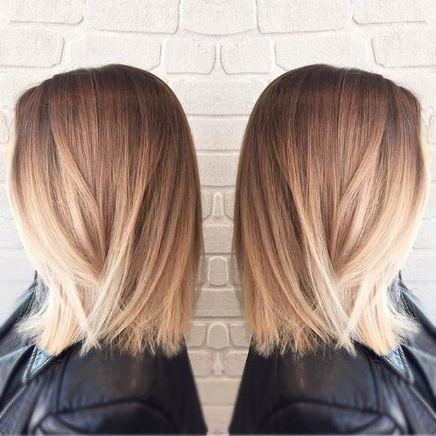 32 Best Bob Haircuts & Hairstyles You Shouldn't Miss – Bob Cuts 2019 With Regard To Long Blonde Choppy Hairstyles (View 11 of 25)