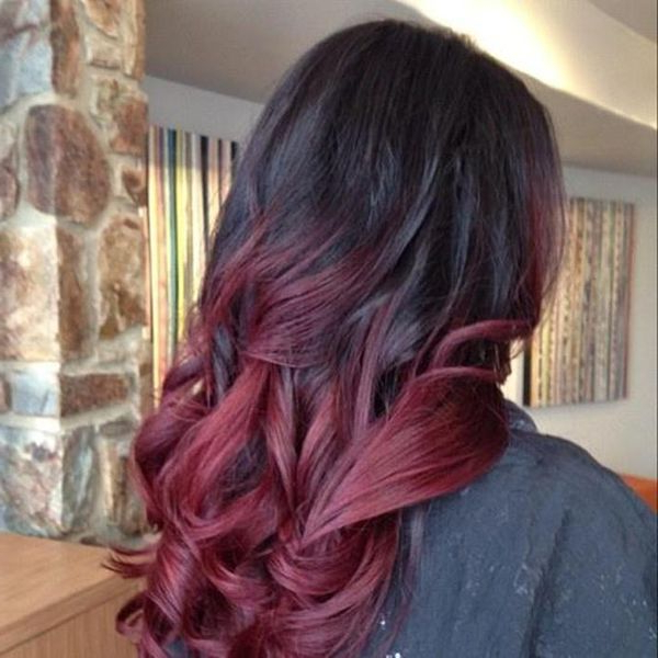 32 Best Red Ombre Hair Color Ideas Regarding Long Hairstyles Red Ombre (View 18 of 25)