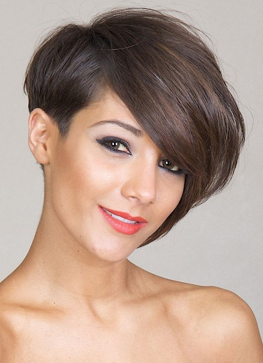32 Best Short Hairstyles For 2019 – Pretty Designs With One Side Short One Side Long Hairstyles (View 10 of 25)