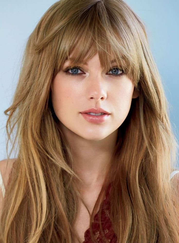 32 Glamorous Long Haircuts With Bangs For Women Pertaining To Long Haircuts With Fringe (View 15 of 25)