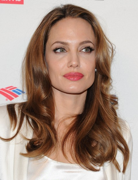 33 Angelina Jolie Hairstyles Angelina Jolie Hair Pictures – Pretty Inside Long Hairstyles Brown (View 13 of 25)