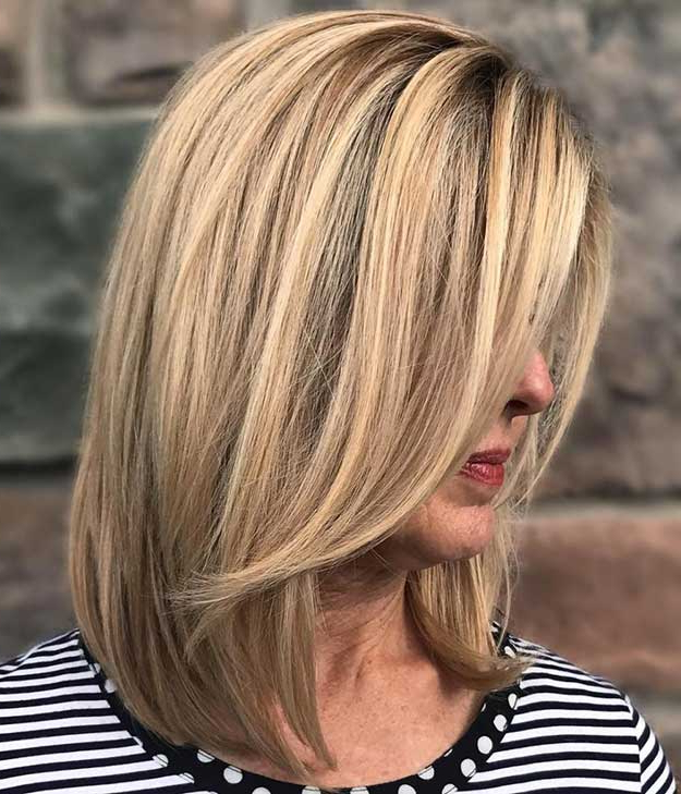 33 Best Hairstyles For Your 40S – The Goddess Regarding Long Hairstyles For Women In Their 40S (View 17 of 25)