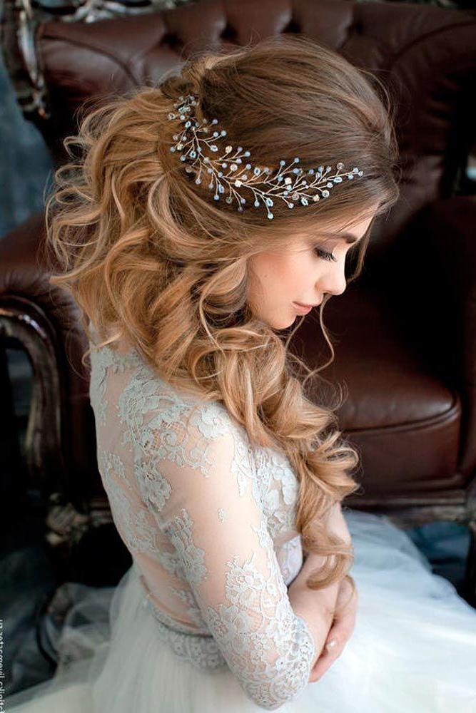 33 Elegant Wedding Hairstyles For Long Hair #2706122 – Weddbook Throughout Long Hairstyles Elegant (View 7 of 25)