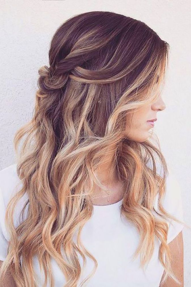 33 Oh So Perfect Curly Wedding Hairstyles | Wedding Hair | Best Within Long Curly Hairstyles For Wedding (View 4 of 25)