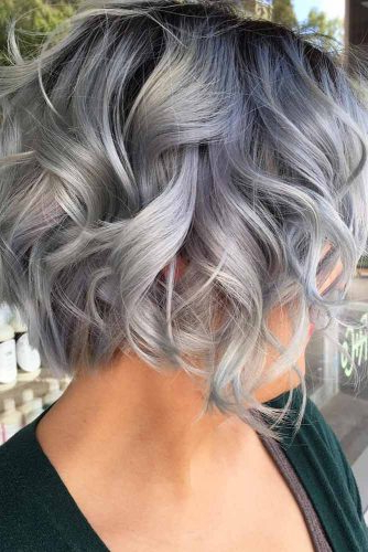 33 Short Grey Hair Cuts And Styles | Lovehairstyles For Loose Layers Hairstyles With Silver Highlights (View 23 of 25)