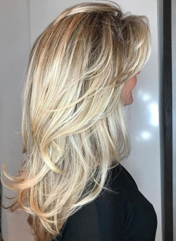 33 Textured Revealing Layered Haircuts | Hair | Hair, Layered With Regard To Long Texture Revealing Layers Hairstyles (View 7 of 25)
