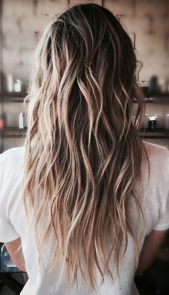 33 Textured Revealing Layered Haircuts | Hair | Hair Styles, Hair Regarding Long Texture Revealing Layers Hairstyles (View 4 of 25)