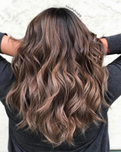 33 Textured Revealing Layered Haircuts | Hair | Long Hair Styles Intended For Long Texture Revealing Layers Hairstyles (View 5 of 25)